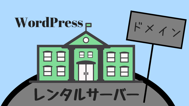 wordpress ドメイン レンタルサーバー