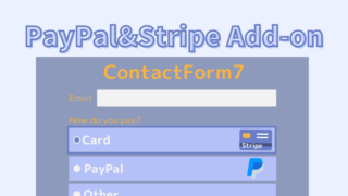 ContactForm7- PayPal&Stripe Add-on Form HTML CSS creditcard payment