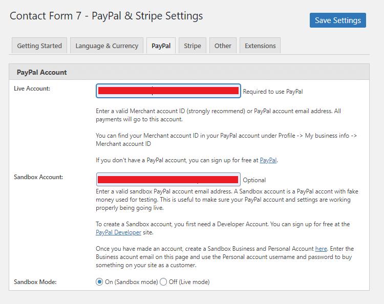 PayPal Account seettings ペイパルアカウントの設定